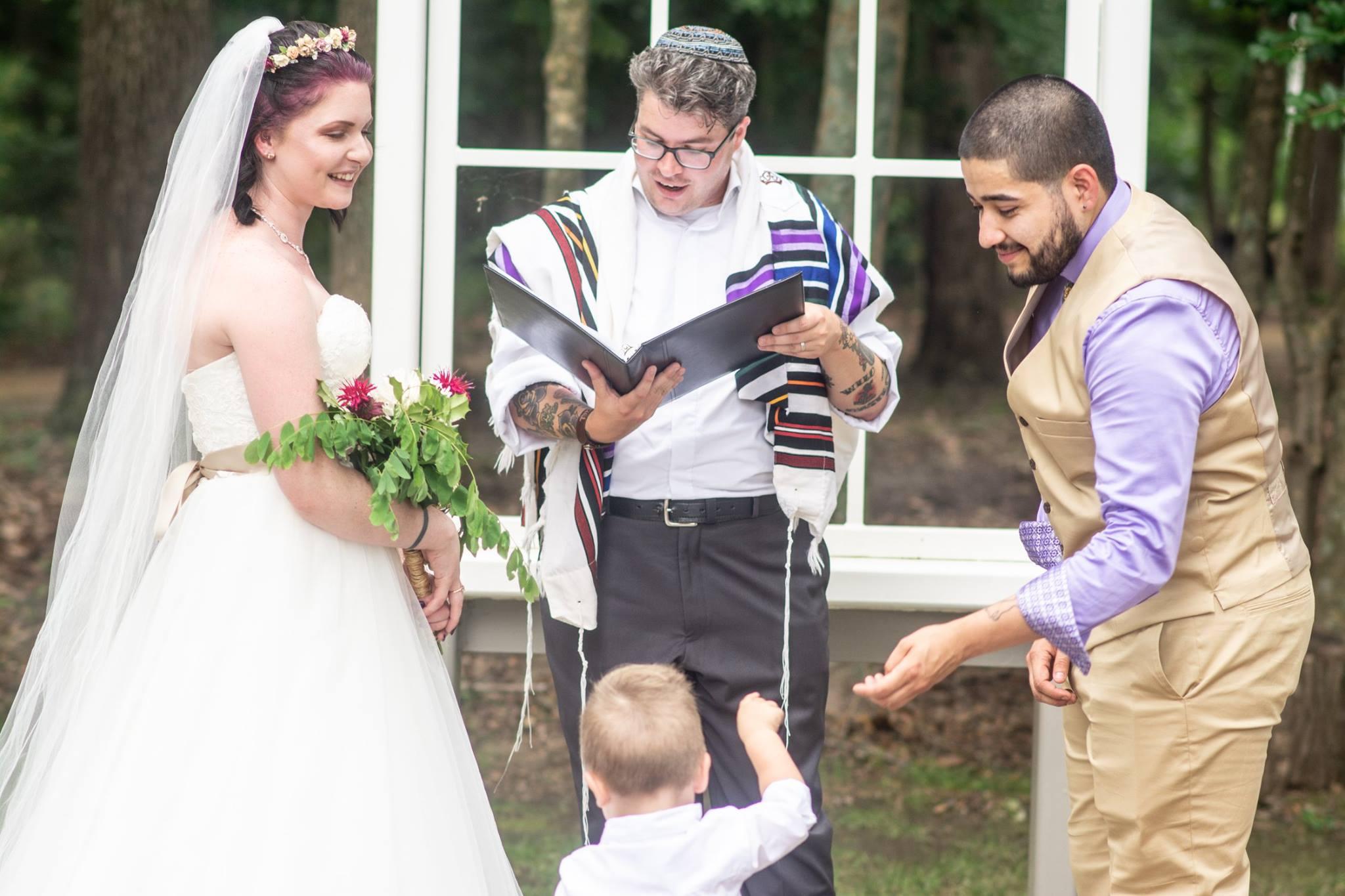 Wedding Rabbi Richmond, Virginia Wedding Officiant